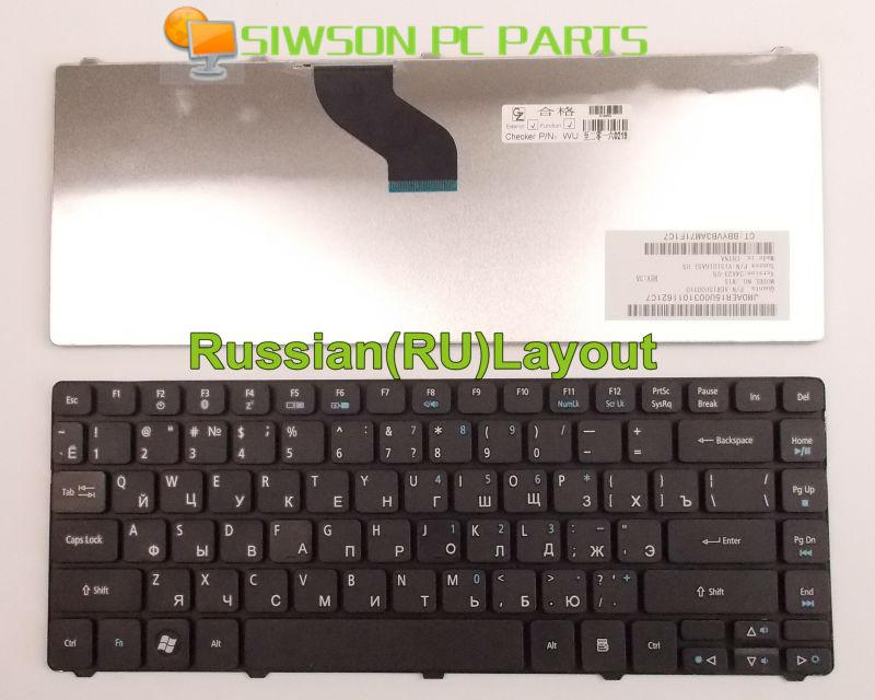 New Laptop Keyboard RU Russian Version for Acer Aspire 5942 5940g 4750 4750G 4750Z 4739 4739Z 3935 5935G