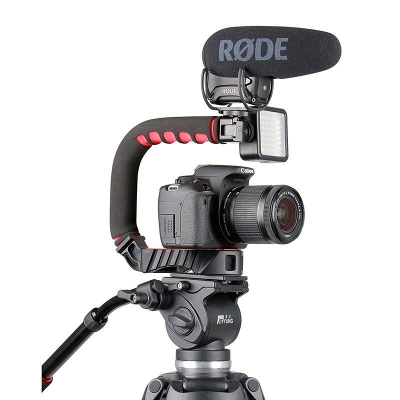 Ulanzi U-Grip Pro наборы лучший выбор для Vlogger видео стабилизатор ручка для путешествий ручка для камеры шестерни для смартфона и DSLR камеры