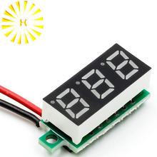 0.28 Inch 2.5V-30V Mini Digital Voltmeter Voltage Tester Meter LED Screen Electronic Parts Accessori