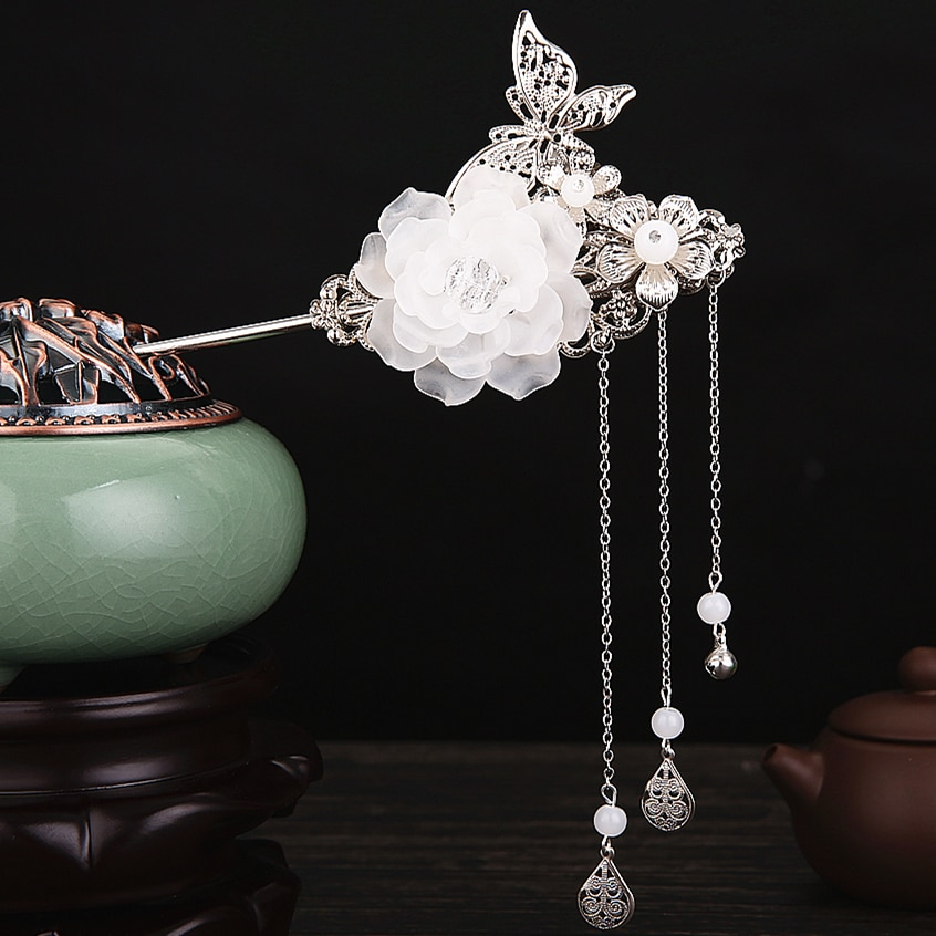 classic vintage hairpin hair accessories princess hair flower chinese ancient princess hair decoration han dynasty wear classic vintage hairpin hair accessories princess hair flower chinese ancient princess hair decoration han dynasty wear