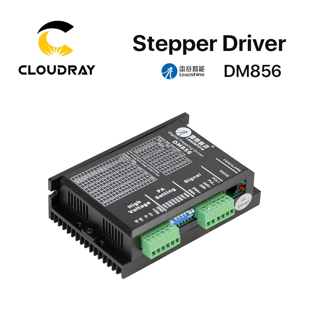Cloudray Leadshine 2 фазный шаговый драйвер DM856 20-80VAC 0,5-5.6A