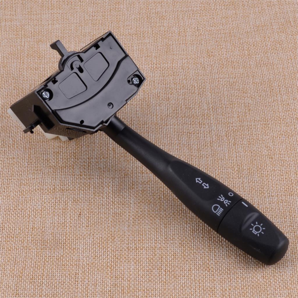 CITALL dönüş sinyali far anahtarı plastik kafa ışık Binker kolu siyah için Fit Chrysler Dodge Eagle Mitsubishi MR277924