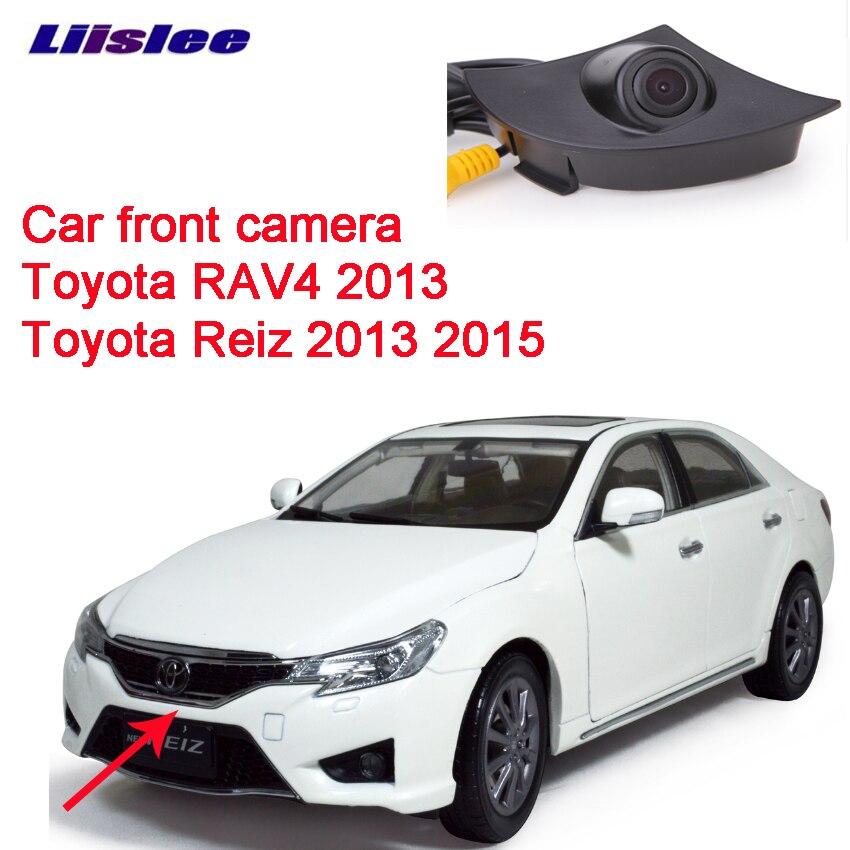 Cámara de imagen positiva del logotipo delantero del coche para Toyota RAV4 2013 para Toyota Reiz 2013 2015 impermeable visión nocturna CCD