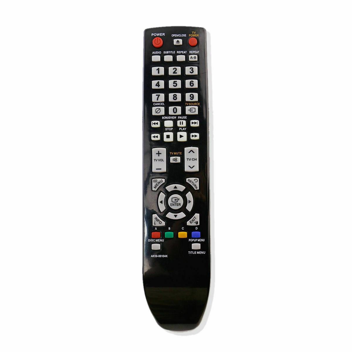 Mando a distancia para SAMSUNG AK59-00104K Blu-ray, BD-P1580, BD-P1590, 3600a