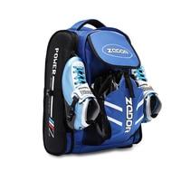 ZODOR Profesional Inline Speed Skates Bag Nylon Skating Backpack for 90mm 100mm 110mm 125mm 4 Wheels 3 wheel Speed Skates Shoes