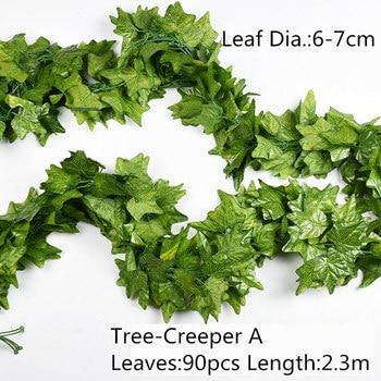 10 Style 1pc Artificial Decoration Vivid Vine Rattan Leaf Vagina Grass Plants Grape Leaves For Home Garden Party Decor B1015 D6store Com