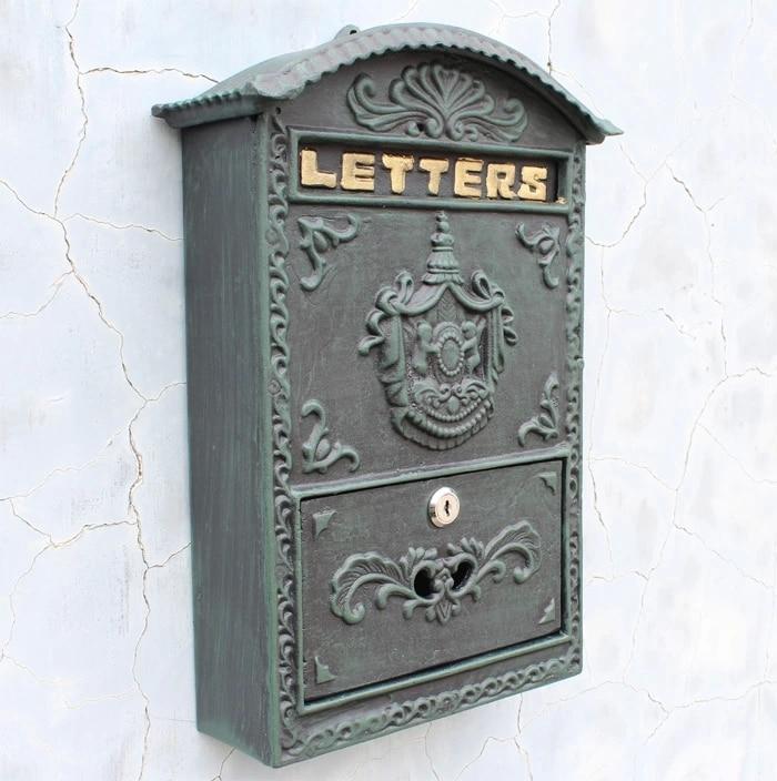 Guarnição decoração em relevo de Bronze ferro caixa de parede caixa de caixa de decoração de alta qualidade
