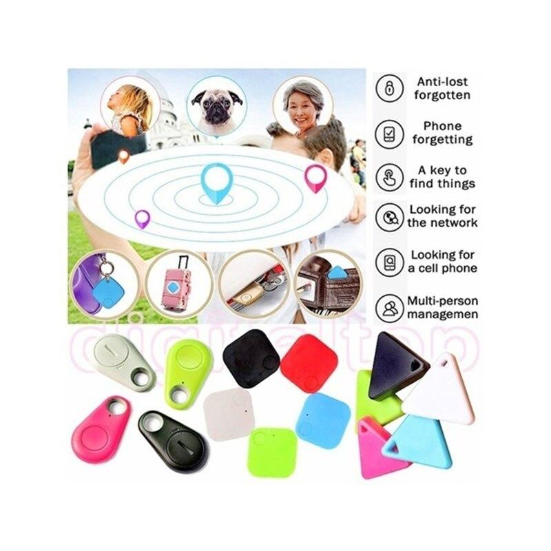 Bluetooth localizador inteligente de etiquetas rastreador niño mascota localizador GPS, alarma cartera clave rastreador de dispositivo de coche mascotas de la motocicleta rastreador