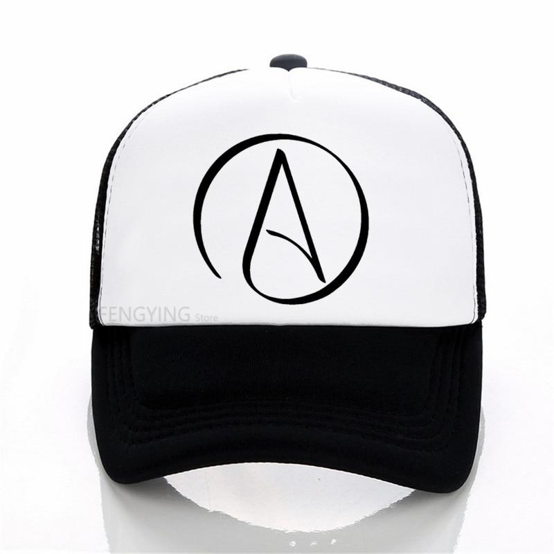 Бейсболки Atheist с логотипом в научном стиле, регулируемая Спортивная Кепка