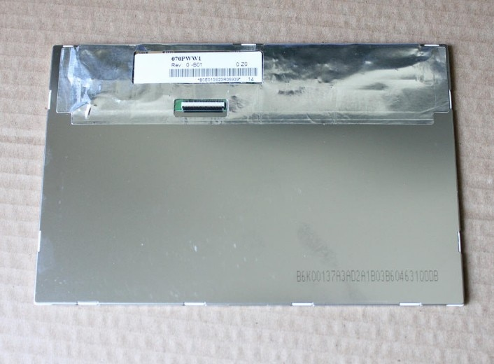 HSD070PWW1-B01 Carpc IPS LCD 1280*800 haute luminosité 89 angle de vision LVDS 6Bit