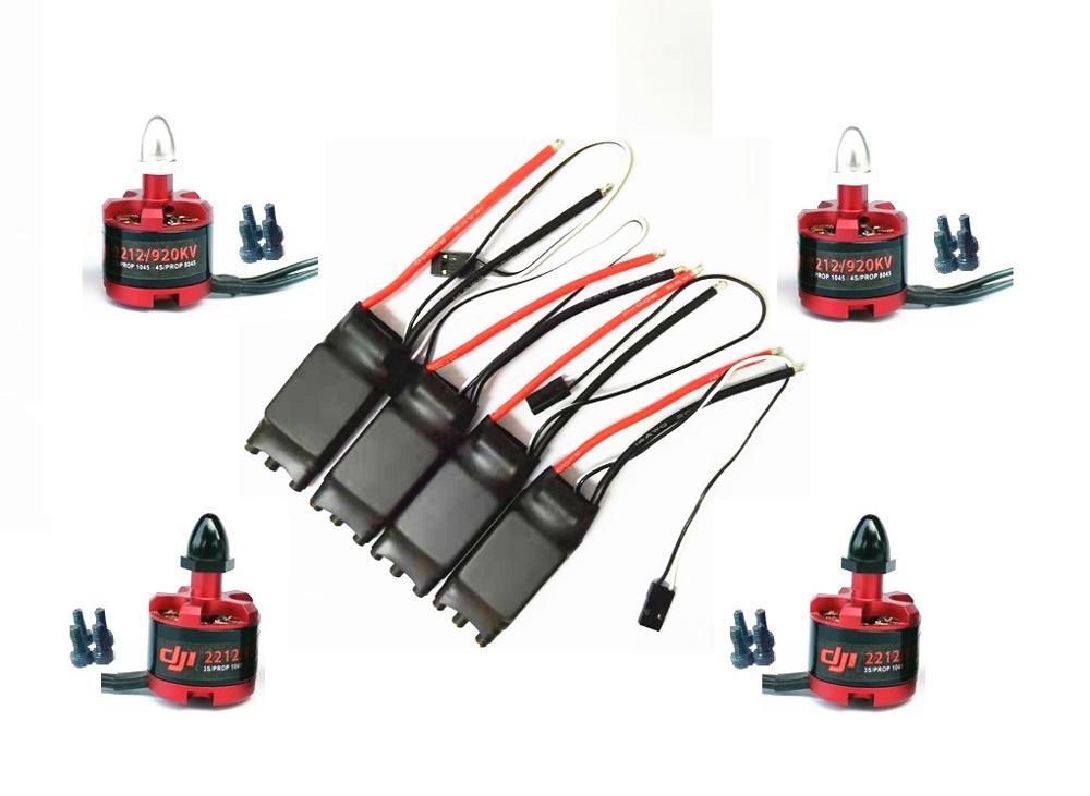 4/6 pces tendflying 40a opto sem escova esc blheli/2212 920kv para f550 650 680 quadcopter qualidade semelhante como 40a