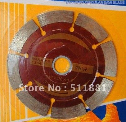 4.6'' inch NCCTEC diamond dry saw cutting blade   114mm high speed stone blade   Class A