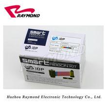 SMART IDP 650643 SIADC-S-YMCKO 250 imprime ruban de couleur et rouleau de nettoyage