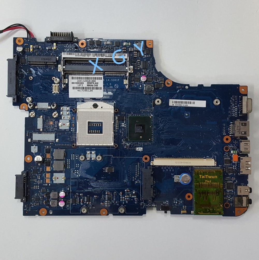 Toshiba satellite a500 a505 placa base de computadora portátil NSKAA D05 K000093520 100% prueba ok