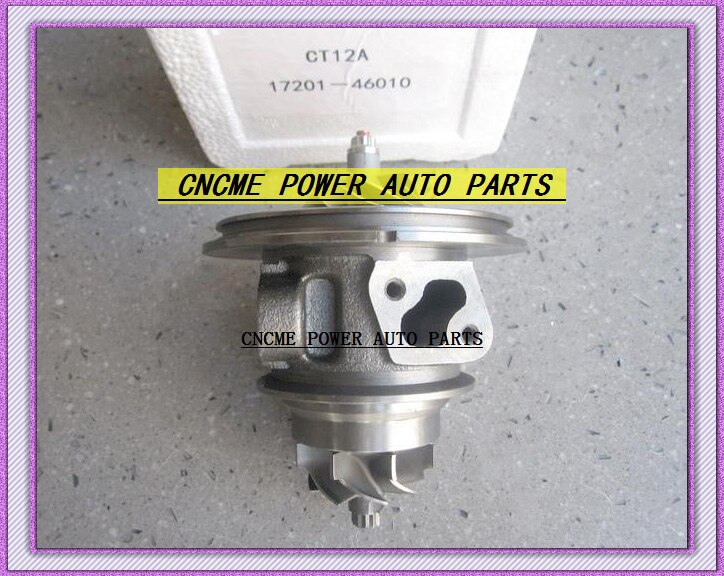 Twin TURBO Cartucho CHR CT12A 17208-46010 17201-46010 Turbocharger Para TOYOTA Lexus Soara Supra Soarer 90- 1JZ-GTE 1 2.5L 2JZGTE