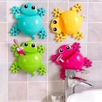 Organisateur de brosse a dents pour enfants  accessoire de salle de bain  dessin anime Animal Gecko