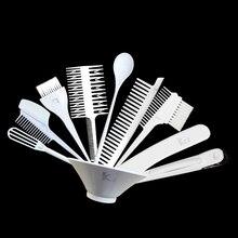 Парикмахерские инструменты профессиональный уход за волосами Стайлинг тонировка Салон Парикмахерская набор кистей 10 шт цветные миски выс...