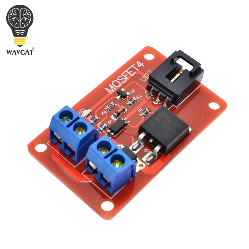 WAVGAT 1 канал 1 Route MOSFET Кнопка IRF540 + MOSFET модуль переключения для Arduino