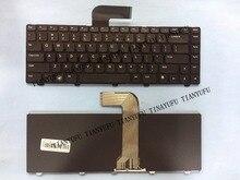 Inglês NOVO TECLADO Para DELL Inspiron 14R N4110 N4050 M4110 M4040 N4110 N5050 M5050 M5040 N5040 X501LX502L EUA teclado Do Laptop