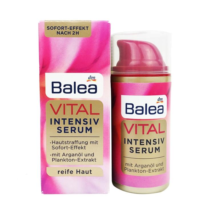 Balea Vital Baobab Intensive Serum for Women Mature Skin 40+Years Tighten Skin Anti Aging Anti Wrinkles Skin Elasticity Firmness