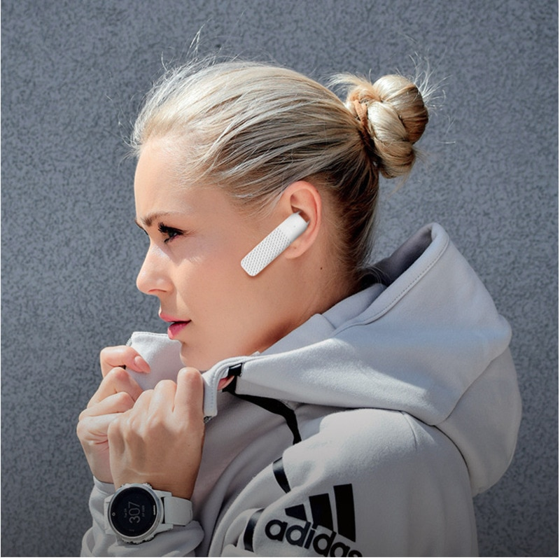 Sport Waterproof Wireless Handsfree Earphone Business Affairs Noise Reduction Bluetooth Stereo Headset With Mic Eh* enlarge