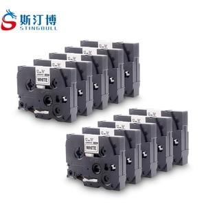12mm Label Printer Ribbons TZe-231 TZ2-231 For Brother PT-9700PC PT-9800PCN PT-800T PT-E800TK PT-D450 PT-E550W PT-D600
