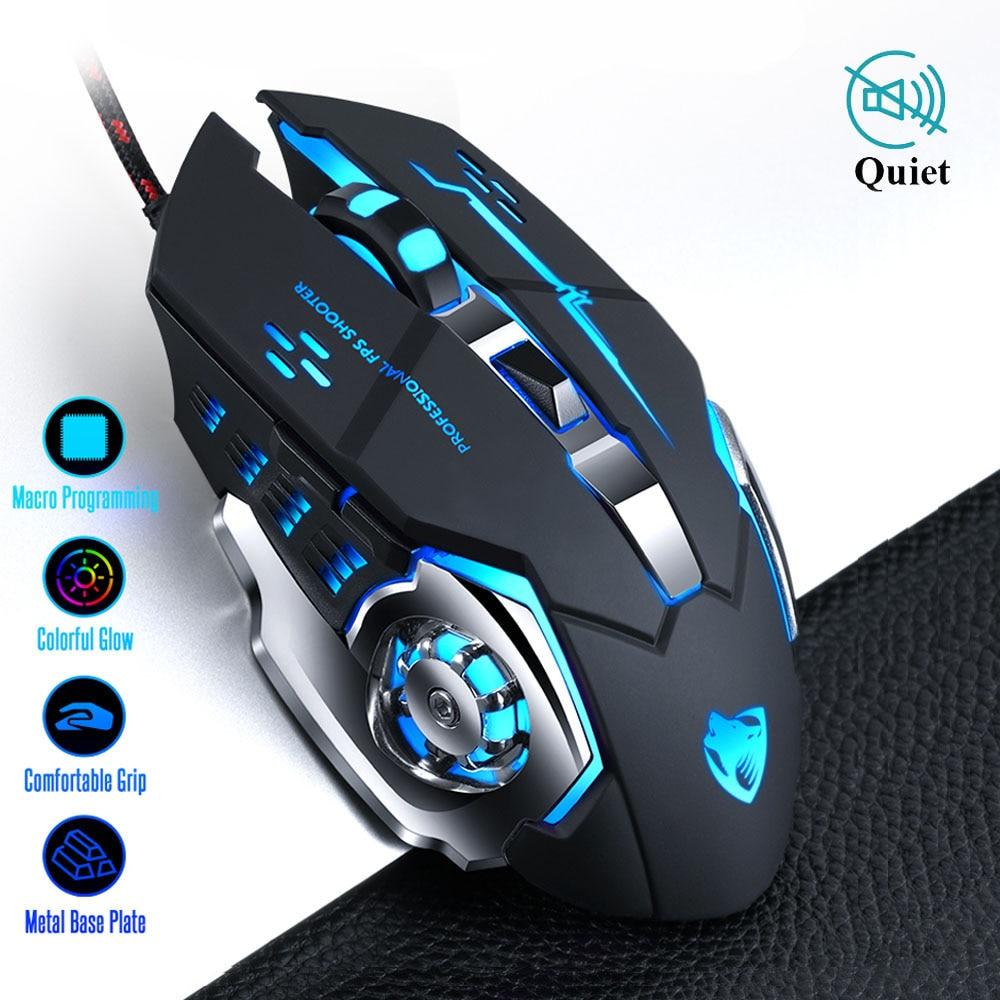 Проводная компьютерная мышь Pro Gamer