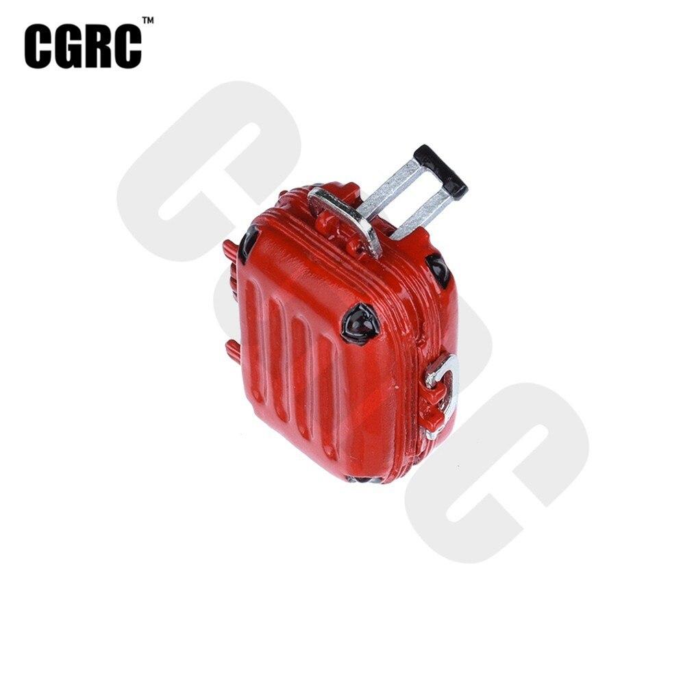 Мини металлический на багажник, чемоданчик, мини винтовой ящик для 1/10 радиоуправляемого гусеничного автомобиля TRX4 RC4WD D90, осевой Scx10, украшения