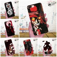For LG G4 G5 G6 K4 K7 K8 K10 2017 V10 V20 V30 Stylus Nexus 5 5X G2 G3 mini spirit TPU Luxury Anime Hellsing Alucard Fan Elegant