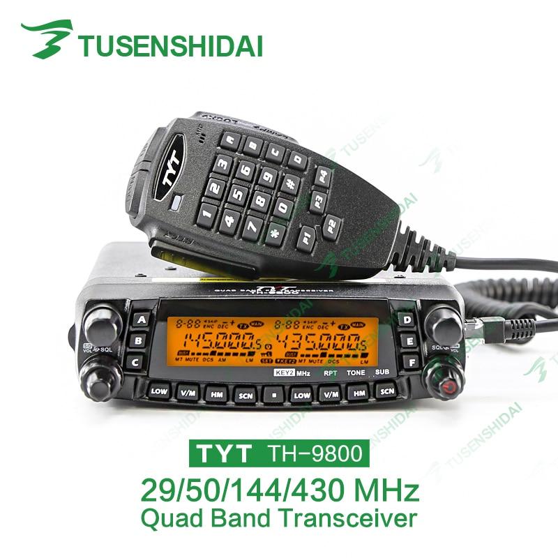 Newest Version Free Programming Cable 26-33/47-54/136-174/400-480 Original TYT TH9800 CB Radio Transceiver