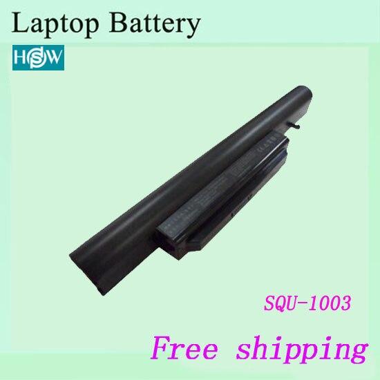 Nieuwe Vervanging SQU-1003 SQU-1002 Batterij Voor HASEE A560P K580P T520 R410U R410G laptop batterij