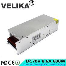 Sortie unique DC70V 8.6A 600W commutateur dalimentation Source dalimentation cc 70V pour CNC équipement industriel Machine moteur pas à pas imprimante