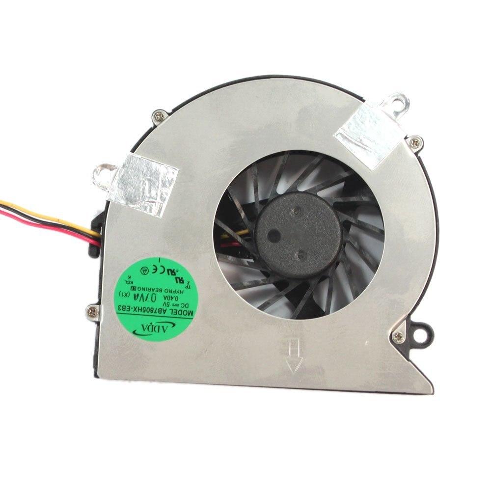 Nueva computadora portátil ventilador de cpu para Acer Aspire 5523, 5315, 5520, 5315, 7720, 7520 portátil ventilador de refrigeración de la CPU
