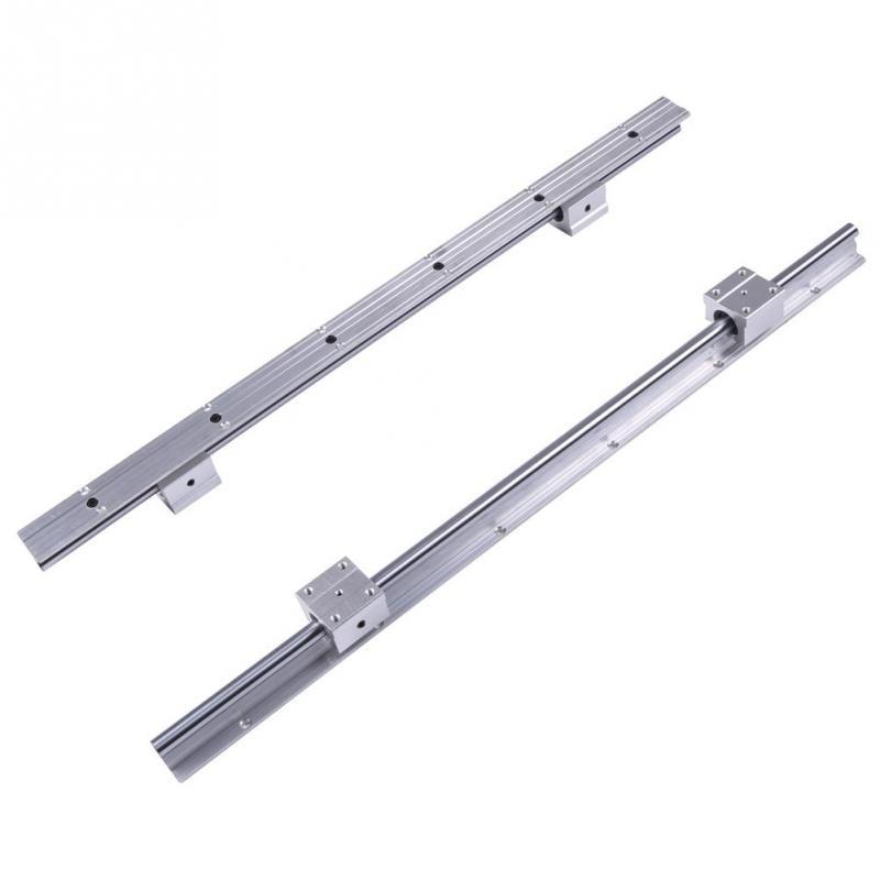 2 компл./лот SBR12-600mm линейный подшипник направляющий вал + 4 шт. SBR12UU блоки раздвижные линейные рельсы
