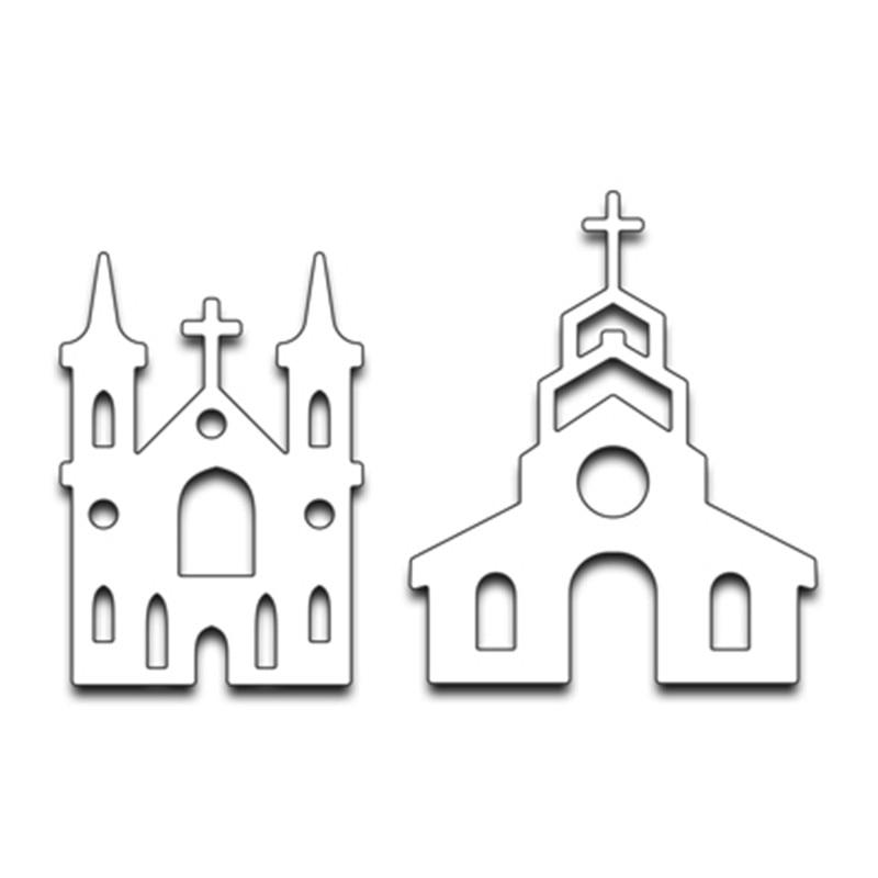 Swovo Cross церковь 2019 металлические режущие штампы трафареты сделай сам для скрапбукинга тиснение бумажные карты высечки фотоальбом сделай са...