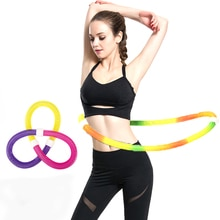 Multifunctional Hose Sports Hoop Fitness Equipment Crossfit Waist Slimming Gymnastics Ring Weight Loose Exerciser Bodybuilding