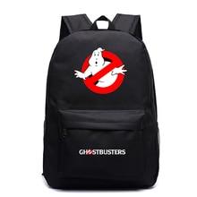 Hot Sale Ghostbuster Backpack Fashion New Pattern Men Women Travel Knapsack Students Boys Girls Back to School Rucksack