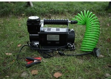 Автомобильный воздушный компрессор, портативный дефлятор давления для шин, 300 л/мин, 4WD, 12 В, 150psi