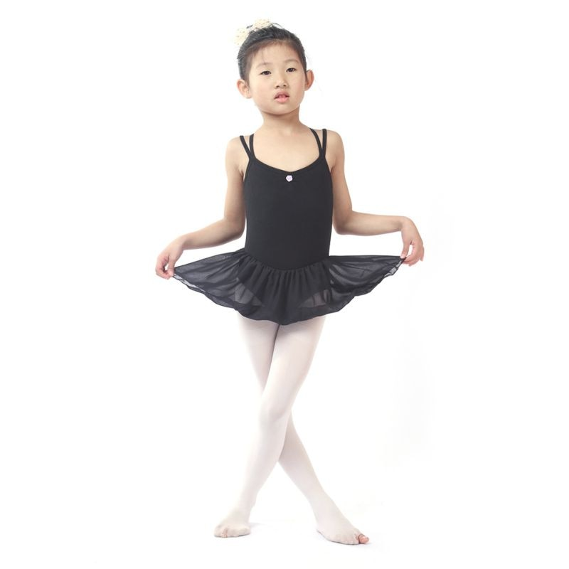Hot Sale Girl Kids Toddler Ballet Dance Tutu Dress Gymnastics Leotard Dancewear Outfit Dance Wear