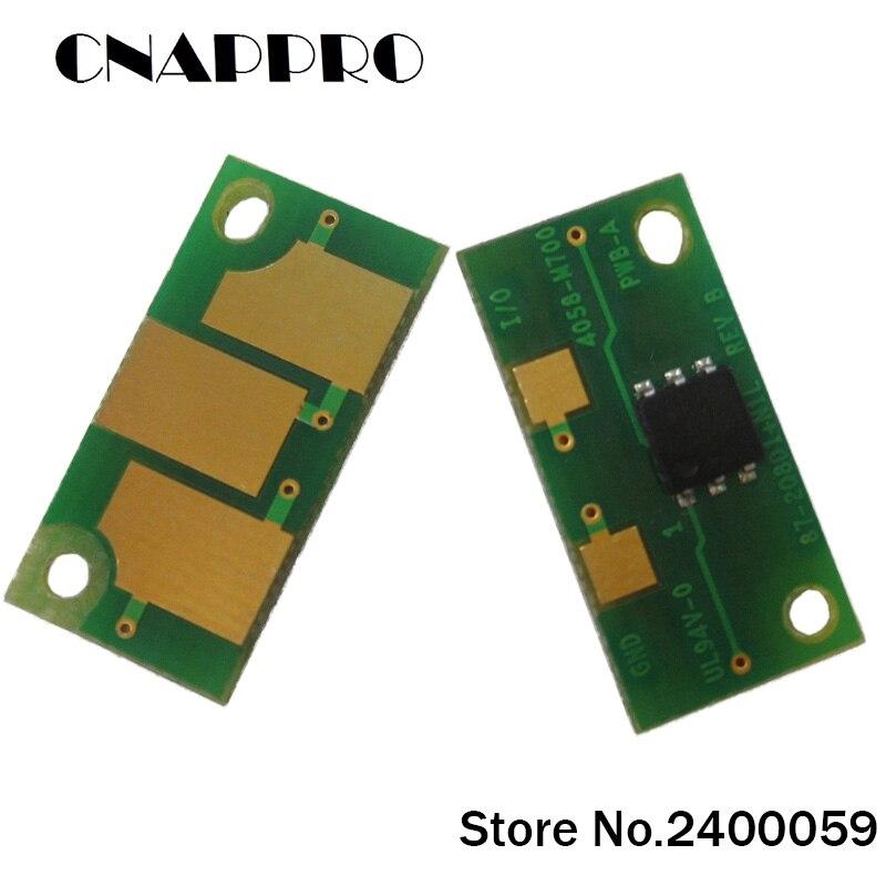 5 set/lote es-25 IT25 25 C2 C3 IT-25C2 IT-25C3 MagiColor 74300DL tóner cartucho Chips 8938- 509 para 8938-512 Chip NEC
