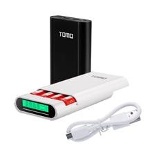 TOMO M4 chargeur dalimentation intelligent housse de batterie portative 4X18650 batterie lithium ion Portable bricolage chargeur de boîte Powerbank pour batterie 18650
