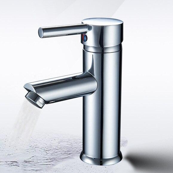 Envío Gratis latón cromado grifo mezclador de baño caliente y Grifo de Agua Fría Dona 2102