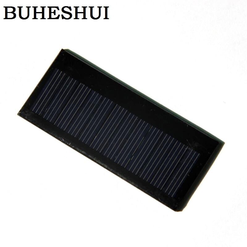 Carregador para Bateria de 3.7 Buheshui v Célula Solar Painel Faça Você Mesmo Policristalino Epóxi 86 * 38mm10pcs – Lot Frete Grátis 54ma 0.3 w 5.5