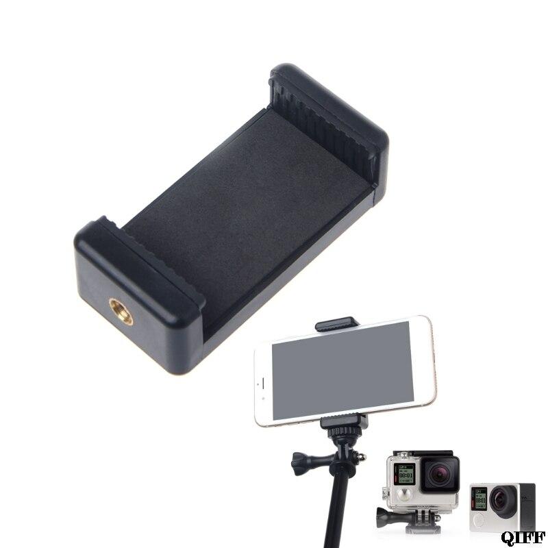 Drop Ship&Wholesale Durable Phone Clip Bracket Holder Mount For Selfie Stick Tripod Monopod Stand APR29