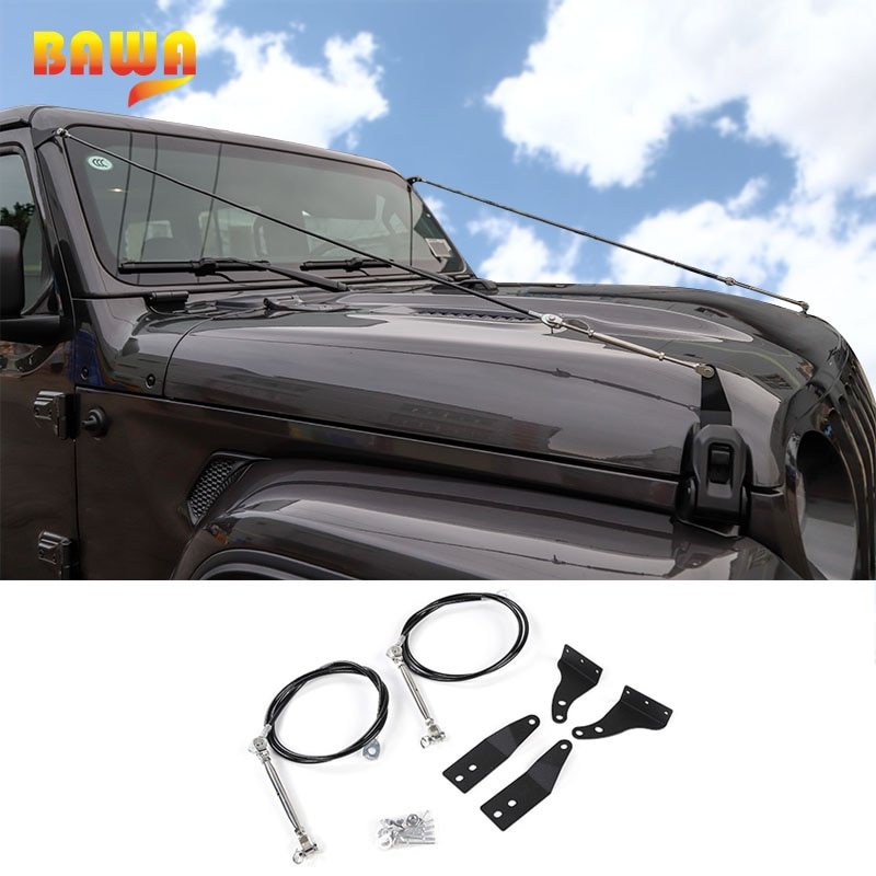 BAWA Protective Frames for Jeep Wrangler JL 2018 Removing Barriers Rope Accessories for Jeep Wrangler jl