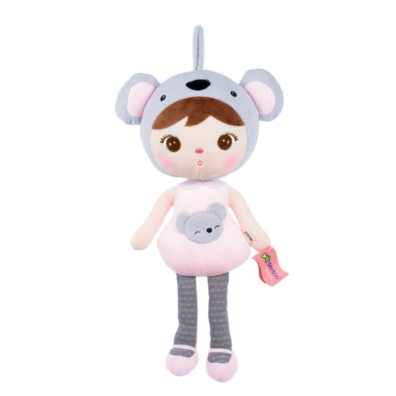 50cm New Metoo Doll Cartoon Stuffed Animals Angela Plush Cute Toys Sleeping Dolls for Children Soft Toy Birthday Gifts Kids Gift  - buy with discount