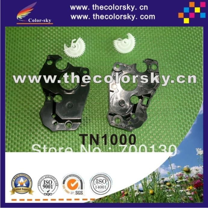 (ACC-TN1000cg) Equipo de reinicio de la bandera + cubierta lateral de la tapa del extremo para brother TN1000 TN1075 TN1060 TN1020 TN1040 TN1050 TN1070 TN1035 freedhl