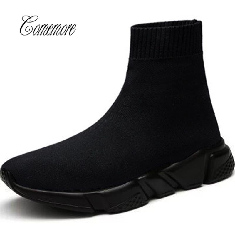 Мужская Спортивная обувь comemore, черные кроссовки, спортивная обувь для мужчин и женщин, спортивная обувь для мужчин