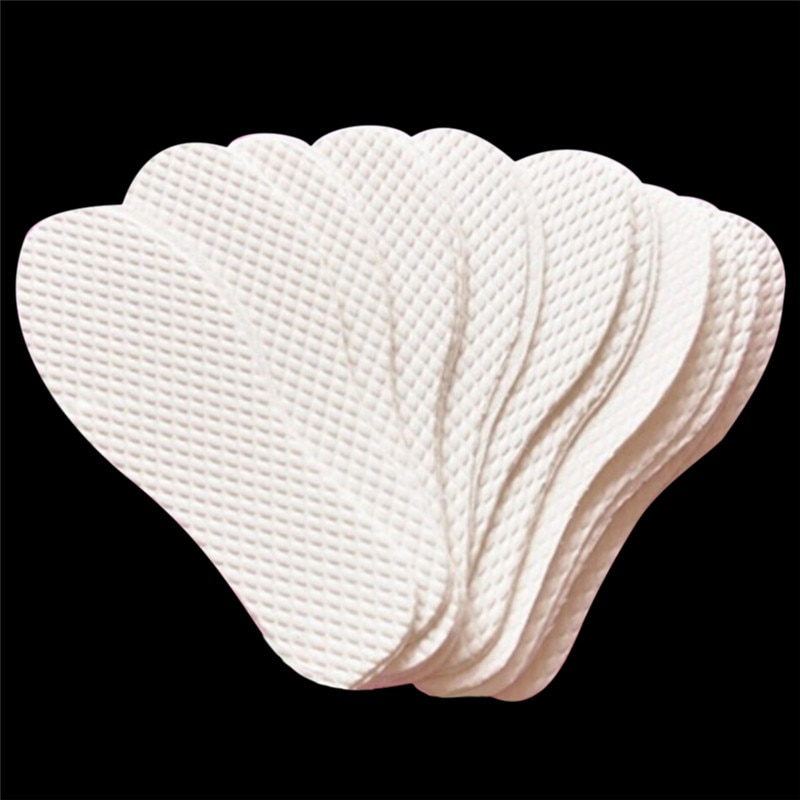 sweat absorbent breathable solid insoles unisex non woven fabric white insoles comfortable soft disposable sanitary insoles 3Pairs Men Women Disposable Comfortable Wood Pulp Shoes Insoles Inserts White Color Insoles For Footwear