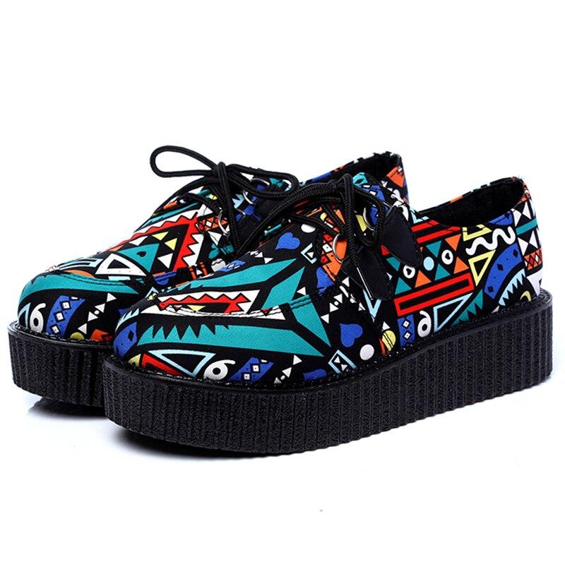 Zapatos de mujer LAKESHI, zapatos informales para mujer, zapatos de plataforma plana, zapatos femeninos de punta redonda, zapatos negros de talla grande 41